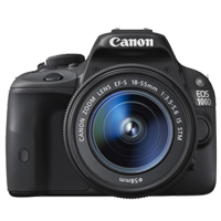 Canon EOS 100D 18 MP with EF-S 18-55mm IS STM Lens Kit Digital Camera Black (1 YEAR WARRANTY)