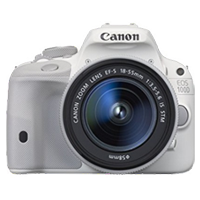 Canon EOS 100D 18 MP with EF-S 18-55mm IS STM Lens Kit Digital Camera White (1 YEAR WARRANTY)