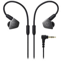 New Audio Technica ATH-LS70 In-ear Headphones Black (FREE DELIVERY + 1 YEAR WARRANTY)