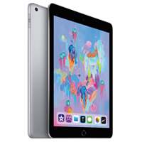 New Apple Ipad (9.7) 128GB 4G (2018) Tablet Space Grey (1 YEAR WARRANTY)