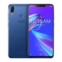 UNLOCKED New ASUS ZenFone Max M2 Dual SIM 64GB 4G LTE Smartphone Blue (FREE DELIVERY + 1 YEAR WARRANTY)