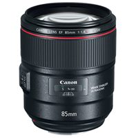 New Canon EF 85mm f/1.4L IS USM Lens (1 YEAR WARRANTY)