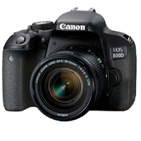 Canon EOS 800D Kit with 18-55mm IS STM Digital Camera Black (PRIORITY DELIVERY + FREE ACCESSORY)