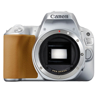 New Canon EOS 200D 24.2MP Body Digital Camera Silver (FREE DELIVERY + 1 YEAR WARRANTY)