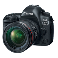 Canon EOS 5D Mark IV with EF 24-70mm f/4L Lens Kit (1 YEAR WARRANTY)