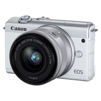 New Canon EOS M200 kit (22) (15-45) Digital Camera White (FREE DELIVERY + 1 YEAR WARRANTY)