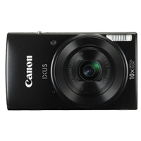 Canon IXUS 190 20MP Digital Camera Black (1 YEAR WARRANTY)