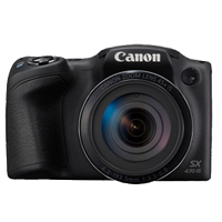 Canon PowerShot SX430 IS 20MP Digital Camera Black (1 YEAR WARRANTY)