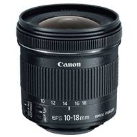 Canon EF-S 10-18mm f/4.5-5.6 IS STM Lens (1 YEAR WARRANTY)
