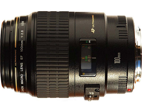 New Canon EF 100mm f/2.8 Macro USM 100 f2.8 for 5D 50D 500D (1 YEAR WARRANTY)