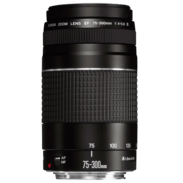 New Canon EF 75-300mm f/4-5.6 III Lens (FREE DELIVERY + 1 YEAR WARRANTY)