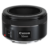 Canon EF 50mm f/1.8 STM Lens (1 YEAR WARRANTY)
