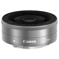 New Canon EF-M 22mm f/2.0 STM Silver Lens (FREE DELIVERY + 1 YEAR WARRANTY)