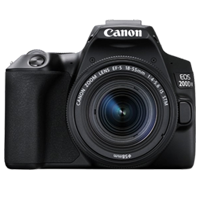 New Canon EOS 200D II 24.2MP Kit (18-55mm) Digital Camera Black (FREE DELIVERY + 1 YEAR WARRANTY)