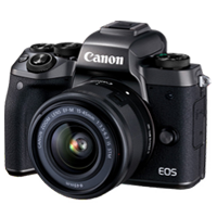 Special Price Canon EOS M5 kit (15-45mm) Digital Cameras Black Demo Model (6 Month warranty)