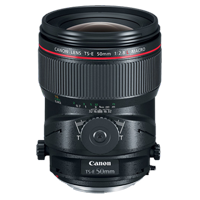 New Canon TS-E 50mm f/2.8L Macro Tilt-Shift Lens (1 YEAR WARRANTY)