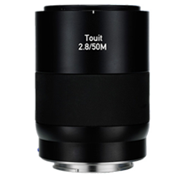 New Carl Zeiss Touit 2.8/50M Lens Fuji X (FREE DELIVERY + 1 YEAR WARRANTY)