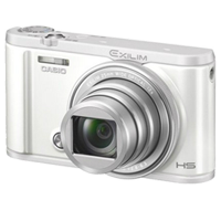 New Casio Exilim EX-ZR5100 12.1MP Digital Camera White (1 YEAR WARRANTY)