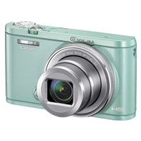 Casio Exilim EX-ZR5000 12.7MP Digital Camera Green (1 YEAR WARRANTY)