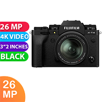 New Fujifilm X-T4 Kit 18-55 Digital Camera Black (FREE DELIVERY + 1 YEAR WARRANTY)