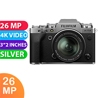 New Fujifilm X-T4 Kit 18-55 Digital Camera Silver (FREE DELIVERY + 1 YEAR WARRANTY)
