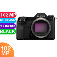 New FUJIFILM GFX 100S Medium Format Mirrorless Camera (Body Only) (FREE DELIVERY + 1 YEAR WARRANTY)