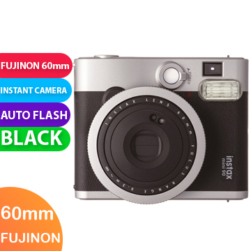 New FUJIFILM INSTAX Mini 90 Neo Classic Instant Camera Black (FREE DELIVERY + 1 YEAR WARRANTY)