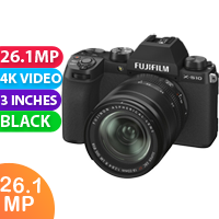 New FUJIFILM X-S10 Mirrorless Digital Camera with 18-55mm Lens (FREE DELIVERY + 1 YEAR WARRANTY)