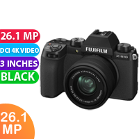 New FUJIFILM X-S10 Mirrorless Digital Camera with 15-45mm Lens (FREE DELIVERY + 1 YEAR WARRANTY)