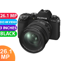 New FUJIFILM X-S10 Mirrorless Digital Camera with 16-80mm Lens (FREE DELIVERY + 1 YEAR WARRANTY)