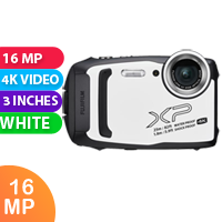 New Fujifilm FinePix XP140 Digital Camera White (FREE DELIVERY + 1 YEAR WARRANTY)