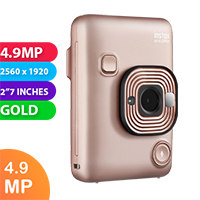 New Fujifilm instax mini LiPlay Camera Blush Gold (FREE DELIVERY + 1 YEAR WARRANTY)