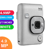 New Fujifilm instax mini LiPlay Camera Stone White (FREE DELIVERY + 1 YEAR WARRANTY)