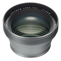 New Fujifilm TCL-X100 II Tele Conversion Lens Silver (FREE DELIVERY + 1 YEAR WARRANTY)