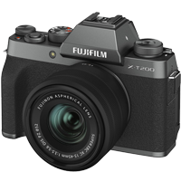 New Fujifilm X-T200 Kit (15-45mm) Digital Camera Dark Silver (FREE DELIVERY + 1 YEAR WARRANTY)