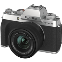 New Fujifilm X-T200 Kit (15-45mm) Digital Camera Silver (FREE DELIVERY + 1 YEAR WARRANTY)