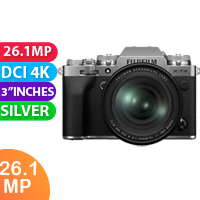 New Fujifilm X-T4 Mirrorless Camera Kit 16-80  Silver (FREE DELIVERY + 1 YEAR WARRANTY)