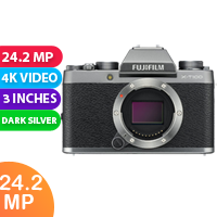 New Fujifilm X-T100 24MP Digital Camera Body Only Dark Silver (FREE DELIVERY + 1 YEAR WARRANTY)