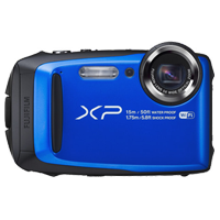 Fujifilm FinePix XP90 16MP Full HD Digital Camera Blue (PRIORITY DELIVERY + FREE ACCESSORY)