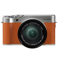 New Fujifilm X-A10 Kit (16-50mm) Digital Camera Brown (FREE DELIVERY + 1 YEAR WARRANTY)