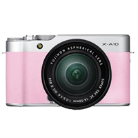 New Fujifilm X-A10 Kit (16-50mm) Digital Camera Pink (FREE DELIVERY + 1 YEAR WARRANTY)