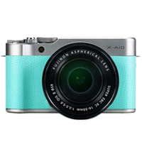 New Fujifilm X-A10 Kit (16-50mm) Digital Camera Lime (FREE DELIVERY + 1 YEAR WARRANTY)