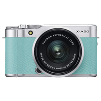 New Fujifilm X-A20 16MP (15-45) Kit Green (FREE DELIVERY + 1 YEAR WARRANTY)