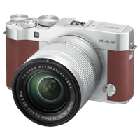 New Fujifilm X-A3 Kit (16-50mm) Digital Camera Brown (FREE DELIVERY + 1 YEAR WARRANTY)