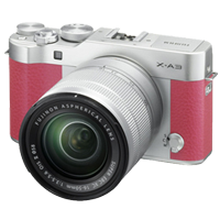 New Fujifilm X-A3 Kit (16-50mm) Digital Camera Pink (FREE DELIVERY + 1 YEAR WARRANTY)