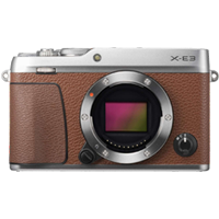 New Fujifilm X-E3 24MP Body Brown (FREE DELIVERY + 1 YEAR WARRANTY)