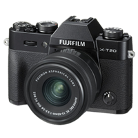 New Fujifilm X-T20 Mirrorless 24MP (15-45mm) Digital Camera Black (FREE DELIVERY + 1 YEAR WARRANTY)