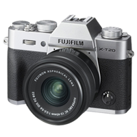 New Fujifilm X-T20 Mirrorless 24MP (15-45mm) Digital Camera Silver (FREE DELIVERY + 1 YEAR WARRANTY)