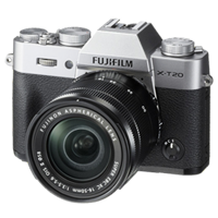 New Fujifilm X-T20 Mirrorless 24MP (16-50mm) Digital Camera Silver (FREE DELIVERY + 1 YEAR WARRANTY)