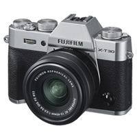New Fujifilm X-T30 Mirrorless 26MP (15-45mm) Digital Camera Silver (FREE DELIVERY + 1 YEAR WARRANTY)